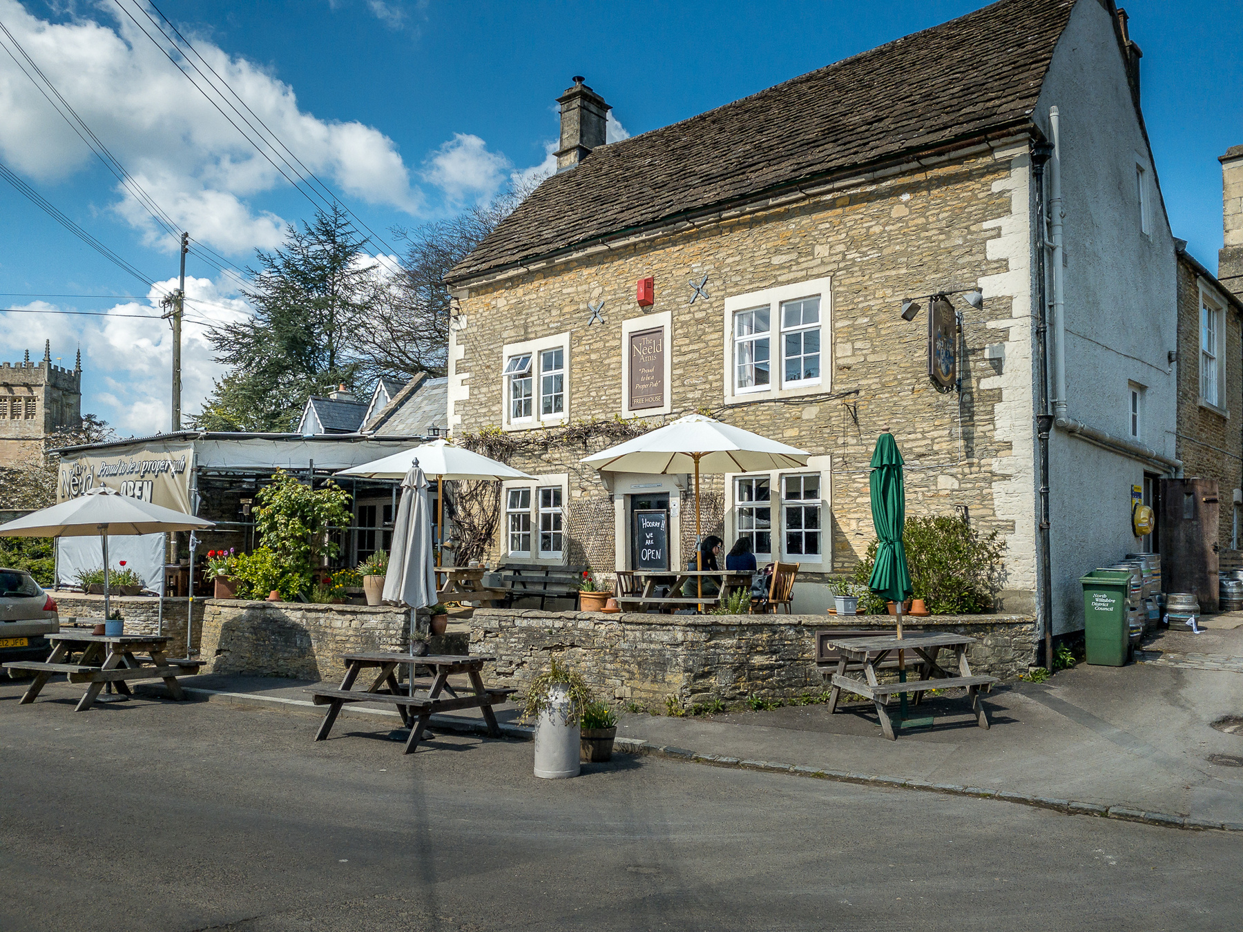phot of the grittleton arms